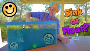 blippi sink or float