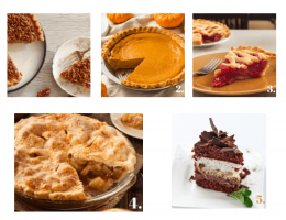 healthy holiday pies